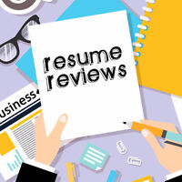 Resume Review Drop-in