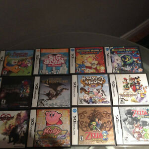Collection Jeux Nintendo DS
