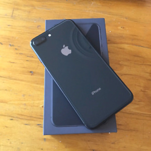 Factory Unlocked Space Grey iPhone 8 PLUS 64GB With AppleCare+