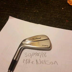 Titleist driving iron. Left hand.