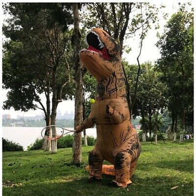 ADULT T-REX COSTUME BRAND NEW ONE-SIZE INFLATABLE SET