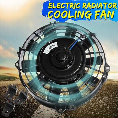 7'' Universal Car 12V 80W Radiator / Intercooler Electric Cooling Fan Push