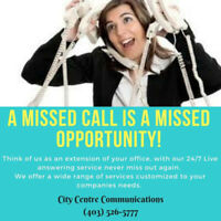 IS AN UNANSWERED PHONE COSTING YOUR COMPANY MONEY?