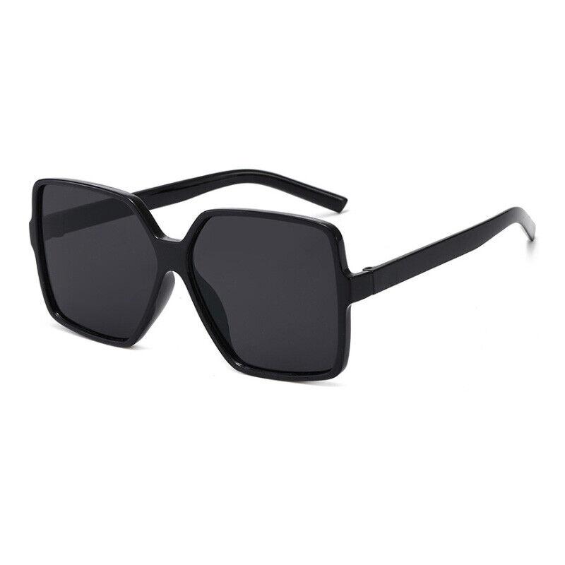 Women Oversize Sunglasses Vintage Plastic Retro Female Sun Glasses UV400
