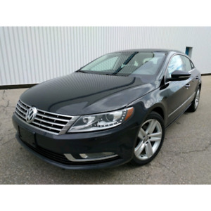 2013 Volkswagen CC 6spd Leather Sunroof Bluetooth Back-up camera