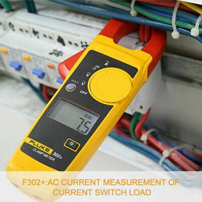 Handheld Fluke 302 F302 Digital Clamp Meter Multimeter Tester Acdc Volt Amp