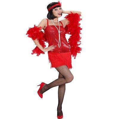 20er Charleston Pailletten Fransen Kleid glamourös Damen Kostüm Flapper - Pailletten Flapper Kleid Kostüm
