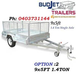 TRAILER HIRE RENTAL BRISBANE QLD 9 x 5 FT 1.4t CAGED FROM $70 P/D