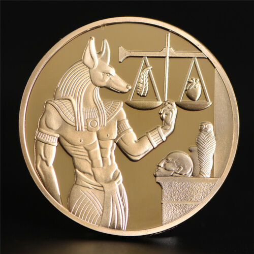 Egypt Death Protector Anubis Coin God Of Death Commemorative U.S.A. SHIPPING