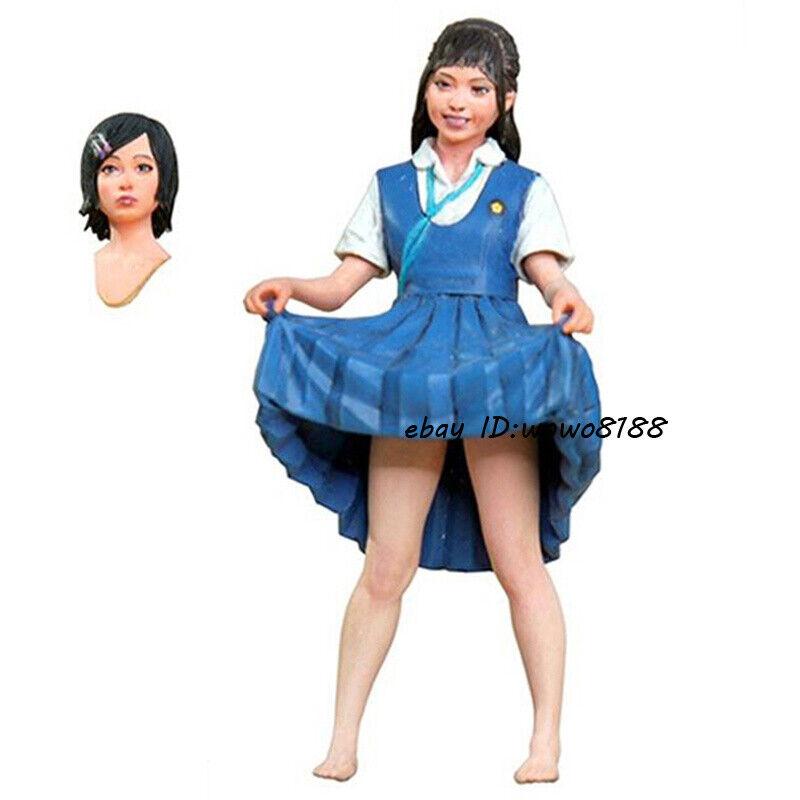 1//20 Scale Japan Female Samurai Garage Kits Resin Unpainted Figure Model Statue