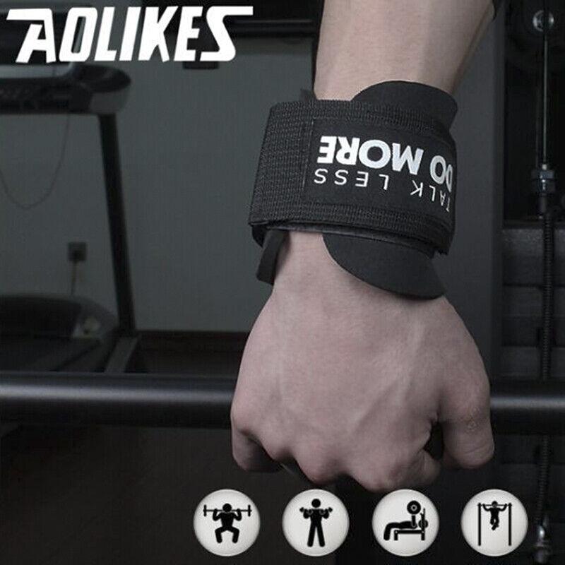 weight lifting hooks heavy duty wrist straps