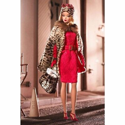 Fashion Model Collection Red Hot Reviews GOLD LABEL Collectible Barbie Doll