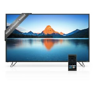 "65"" HDR 4K Smart TV and tablet remote 3+years of Costco warranty"