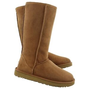 UGG CLASSIC TALL CHESNUT SIZE 8 100% AUTHENTIC NEW**