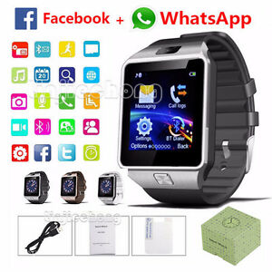 Bluetooth Android Smart Watch- sim card/camera/facebook/whatsApp