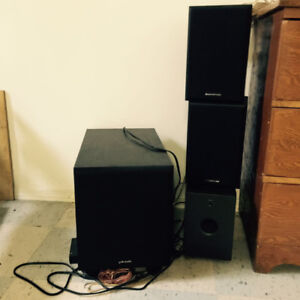 JVC, Sony, acoustech labs speakers,