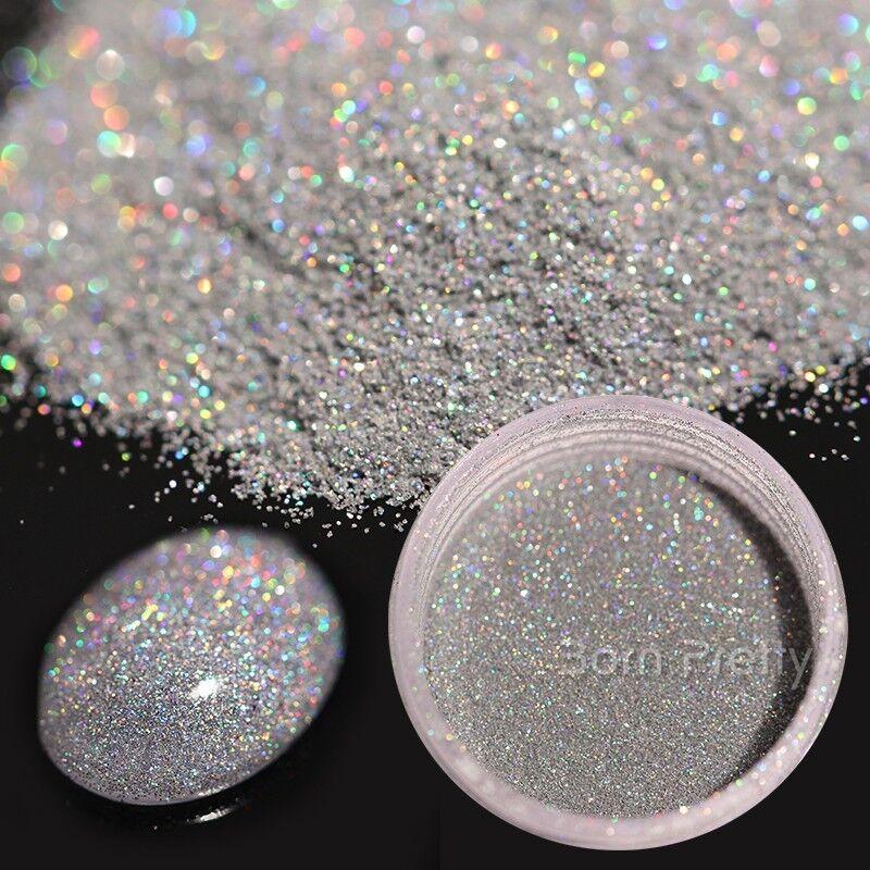 Nail Glitter Powder Holographic Nail Art Chrome Pigment Manicure Decoration DIY