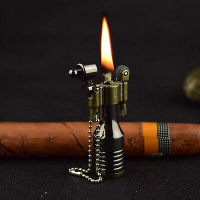 Vintage Metal Flame Kerosene Lighters Retro Torch Lighter Novelty Gadget Militar - Retro Lighters