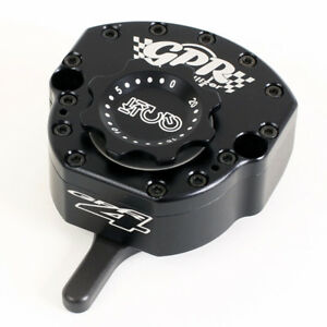 GPR V4  BLACK  STEERING DAMPER KIT ZX10R 2011-2012
