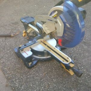 Mastercraft Sliding Compound Mitre Saw with Laser
