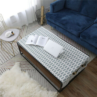 Leaf Printed Cotton Linen Coffee Table Cover Tablecloth Rectangular Table Cloth](Coffee Table Cloth)