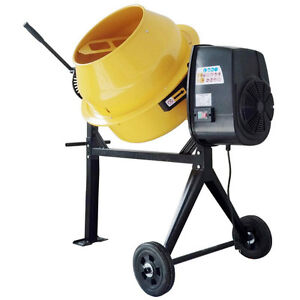 electric cement/mortar mixer