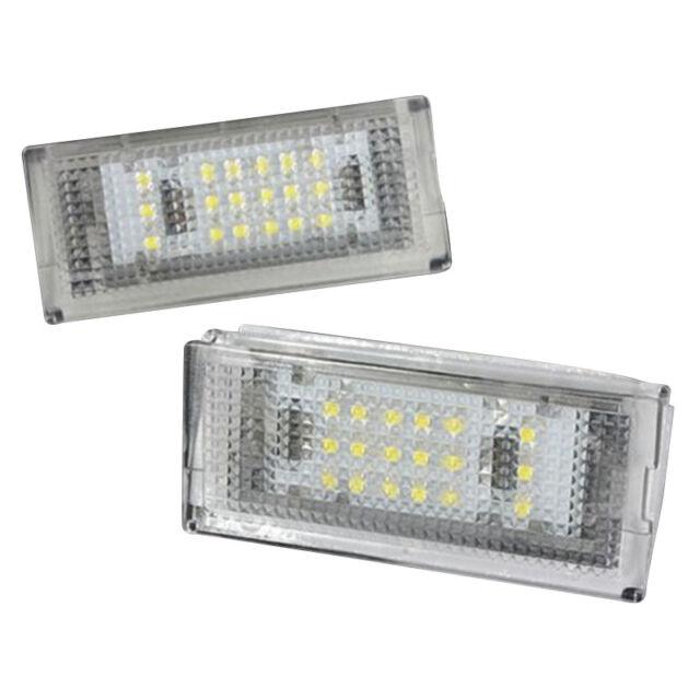 2x 18 LED Number License Plate Light Lamp For BMW E46 4DR Sedan 325i 328i 9 J7K2