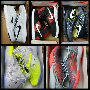 Brand New NIKE SIZE/GRANDEUR 11.5 Various styles and prices