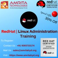 red hat linux administration training