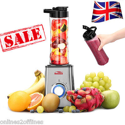 Personal Sport Blender Smoothie Maker Extractor Juicer Protein Shake 300W Bottle