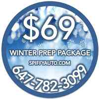 $69 Complete Auto Detailing  Winter protection detail.   $69