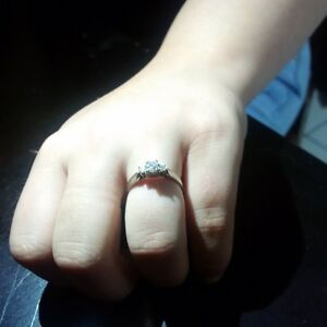 engagement ring, just in time for christmas