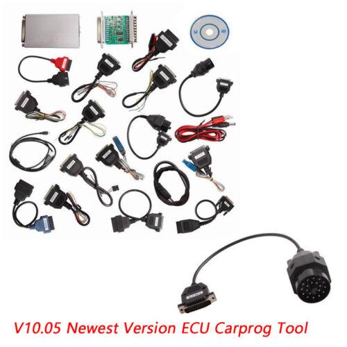 V10.05 Carprog Full Version w/All21 Adapter Car ECU PROG Programmer Airbag Reset