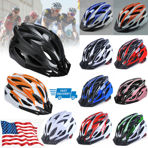 Details about  /Safety Bike Cycling Bicycle Helmet Protective Mountain Outdoor Sports Adjustable
