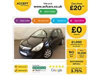 Vauxhall/Opel Corsa 1.2i Exclusiv FINANCE OFFER FROM £20 PER WEEK!
