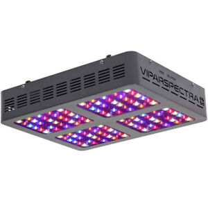 600W Viparspectra LED Grow Light Cannabis Vegetables GrOh Canada