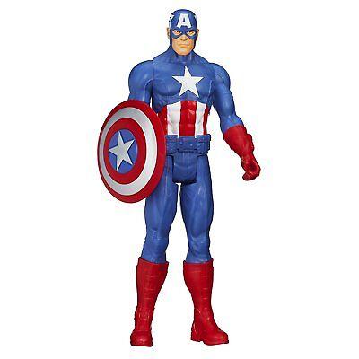 Marvel Avengers Titan Super Hero Series Captain America Action Figure Kid Toy
