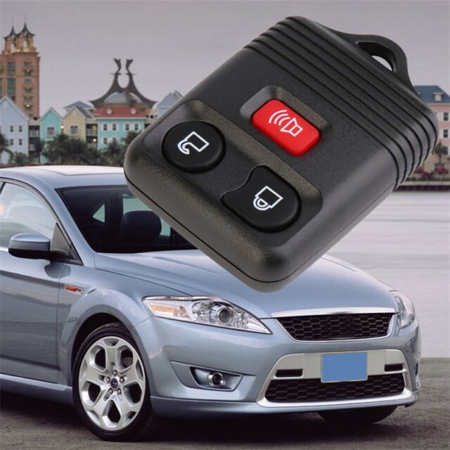 3 Button Replacement Keyless Remote Key Fob Shell Case Housing For Ford C31 IM
