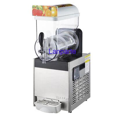 15l Commercial Frozen Drink Slush Machine Smoothie Maker Machine 110v