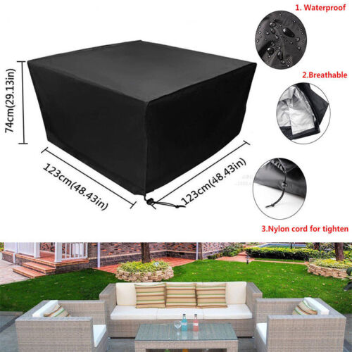 garden furniture cover - Waterproof Garden Rattan Outdoor Furniture Cover Patio Table Sofa Protection USA
