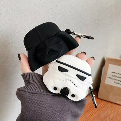 Star Wars stormtrooper Jedi Design Silicone Cover For Apple Airpods Pro 1 2 Case
