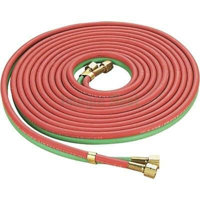 Red Green Twin Welding Torch Hose Oxygen Acetylene Oxy 25 14 For Cutting
