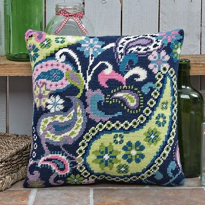Twilleys - Tapestry Cushion Front Kit - Paisley Extravaganza - 2894/0029