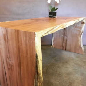 REDUCED live edge dining table