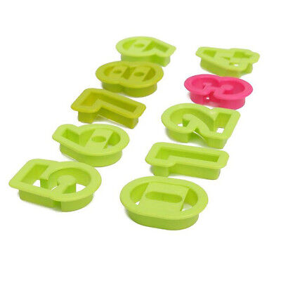 Biscuit Cookie Cutter Jelly Pastry Craft Fondant Kitchen Cake Mould Teaching Kid