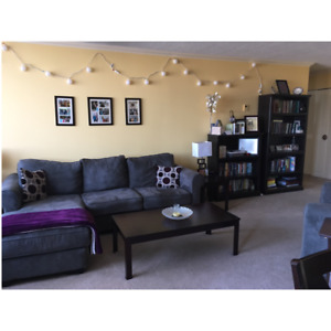 Spacious, centrally located, fully furnished condo for rent!