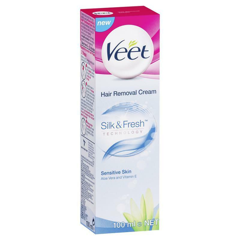 Veet Hair Removal Cream Sensitive Skin 100ml Ebay