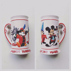 "Disney ""Mickey through the years"" Collectors Beer Stein"