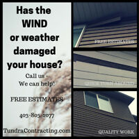 Is the weather wearing out the outside of your house?