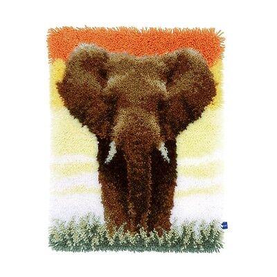 """Vervaco Knüpfteppichpackung """" Elefant in der Savanne II """"  PN-0150518"""